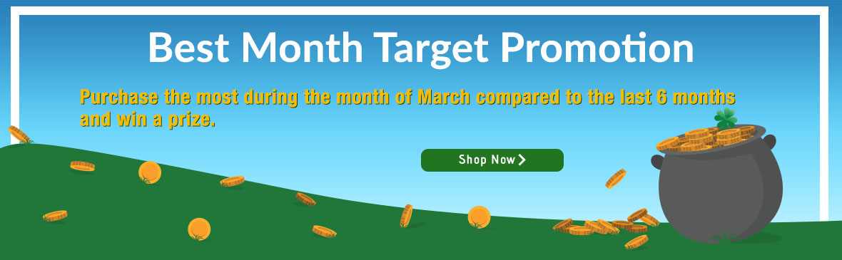 Best Month Target Promo
